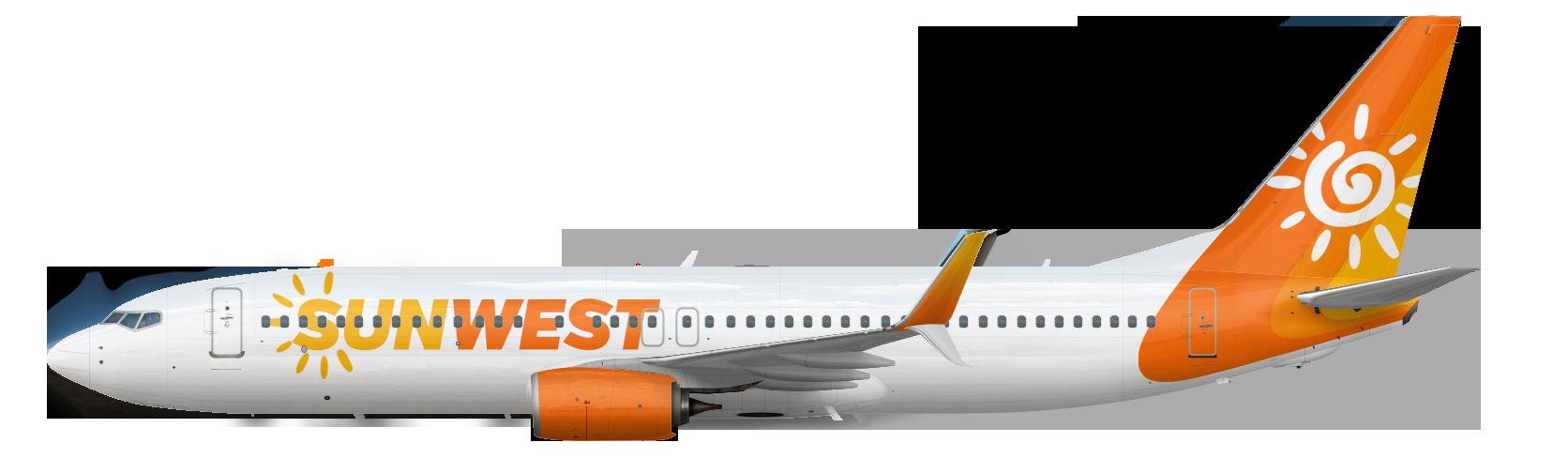 Boeing 737-800 SSW