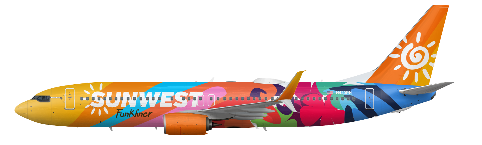 Boeing 737-800 Funkliner