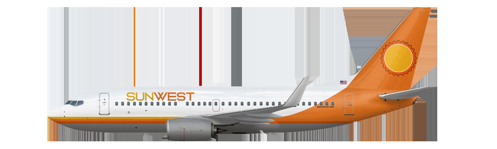 Boeing 737-700 Retro Livery
