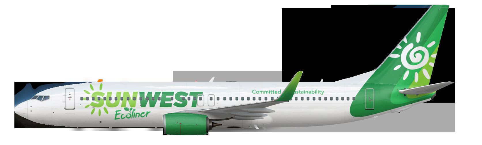 Boeing 737-800 Ecoliner